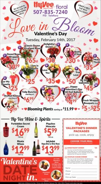 Love in Bloom Valentine's Day