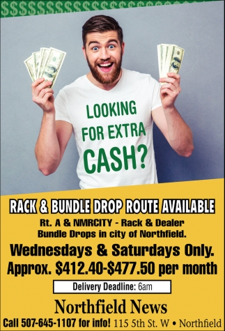Rack & Bundle Drop Route Available