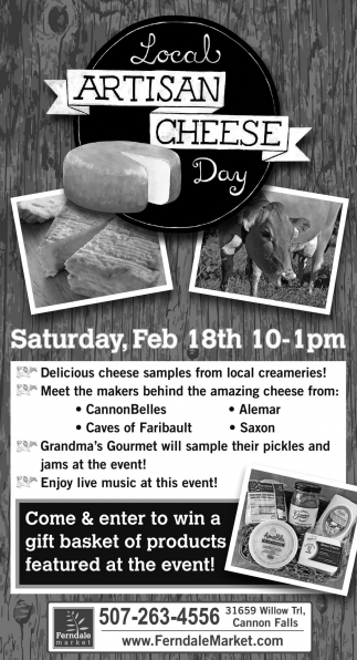 Local Artisan Cheese Day