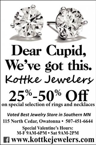 Dear Cupid, We've got this.