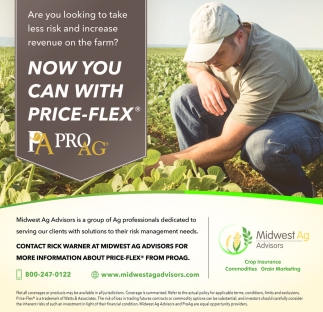 Contact Rick Warner at Midwest Ag Advisors