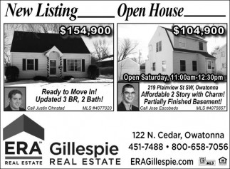 New Listing - Open House