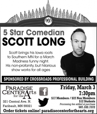 5 Star Comedian Scott Long