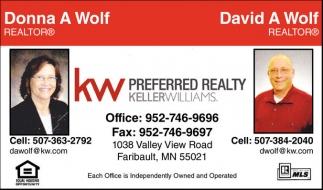 Donna A Wolf - David A Wolf