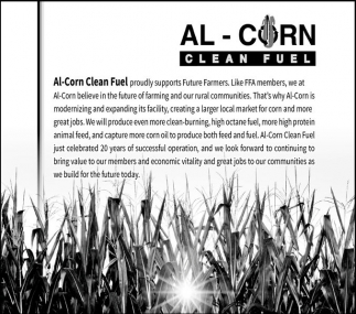 Al-Corn, Clean Fuel, Ethanol Minnesota, Al Corn Clean Fuel