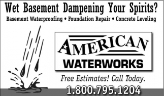 Basement Systems, American Waterworks, Pine Island, MN