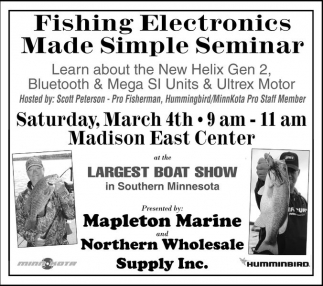 Fishing Electronics Made Simle Seminar