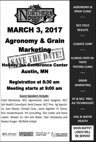 Agronomy & Gain Marketing, Northern Country Coop