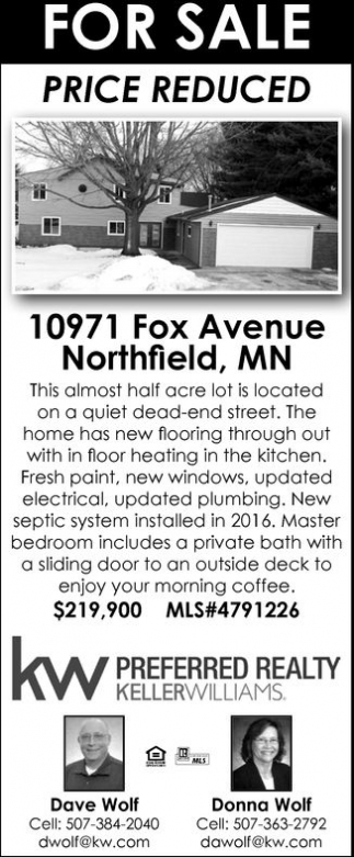 10971 Fox Avenue Northfield, MN