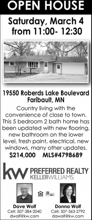 Hopen House: 19550 Roberds Lake Boulevard