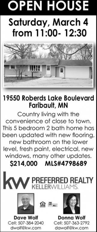 Hopen House: 19550 Roberds Lake Boulevard