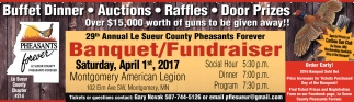 29th Annual Le Sueur County Pheasants Forever, Pheasants Forever, Faribault, MN