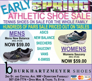 Early Spring Athlectic Shoe Sale