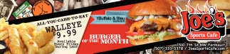 Burger of The Month: The Buffalo & Bleu Burger