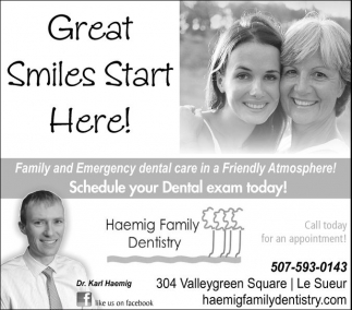 Great Smiles Start Here!