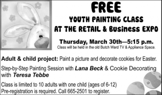 Adult & Child Project, Free Youth Painting Class
