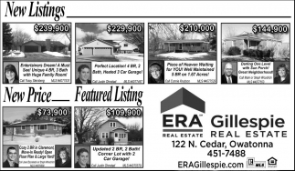 New Listings - New Price