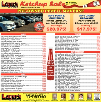 41st Annual Ketchup Sale