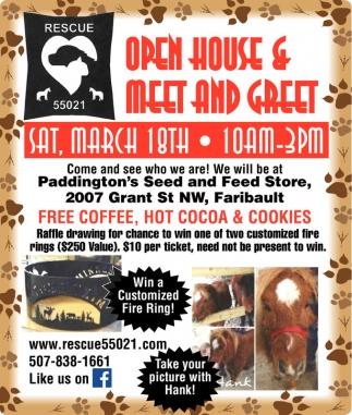 Open House & Meet and Greet