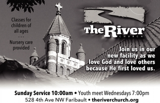 Sunday Service 10:00 am, The River Church - Faribault, Faribault, MN