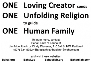 One Loving Creator