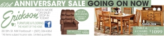 61st Anniversary Sale Going on Now