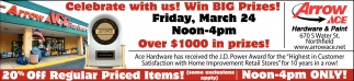 Win Big Prices! Over $1000 in prizes!
