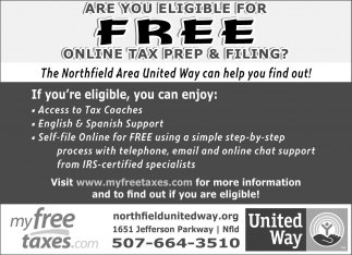 Are you eligible for free online tax prep & filing?