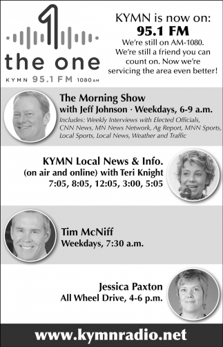 KYMN is now on 95.1 FM