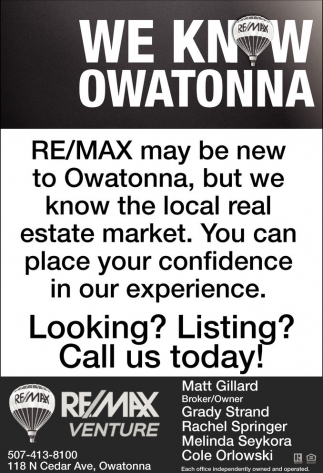 We Know Owatonna