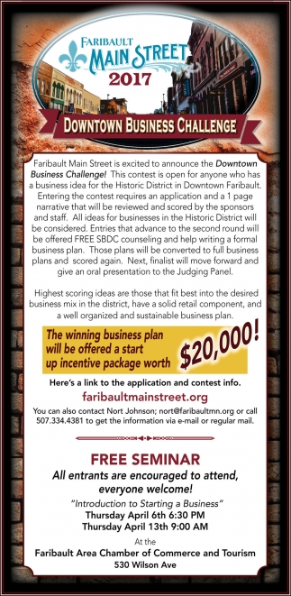 Downtown Business Challenge