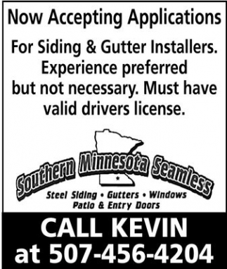 Siding & Gutter Installers