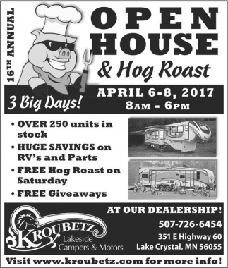 Open House & Hog Roast