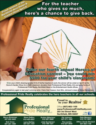 Enter our fourth annual Heroes of Education contest - you could win $500 for your child's classroom!