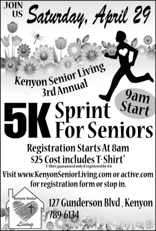 5K Sprint For Seniors