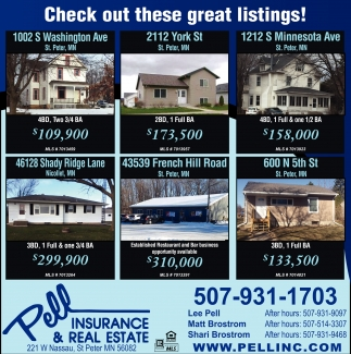 Chek out these great listings!