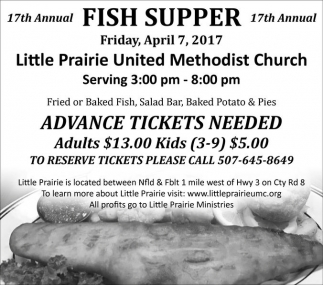 17th Annual Fish Supper