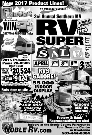 RV Super Sale
