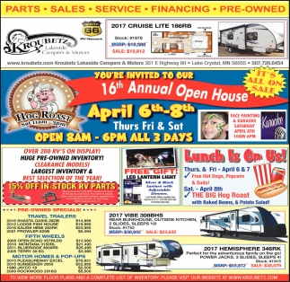 16th Annual Open House
