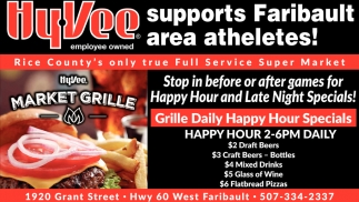 Supports Faribault area atheletes!