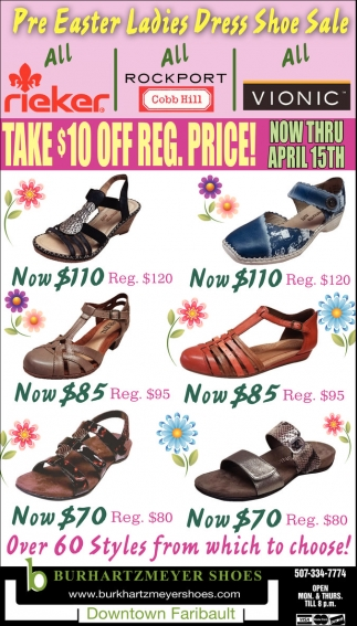 Pre Easter Ladies Dress Shoe Sale