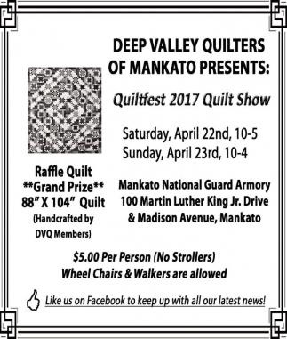 Quiltfest 2017 Quilt Show