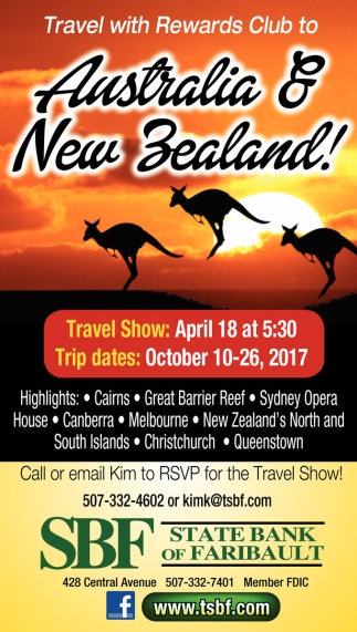 Australia & New Zealand!