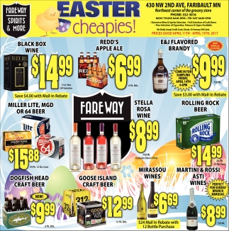 Easter cheapies!