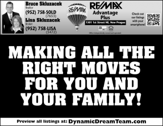 Making all the right moves for you and your family