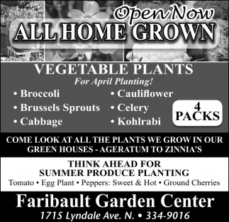 Open Now All Home Grown
