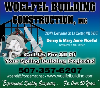 Call us for all your home improvement needs