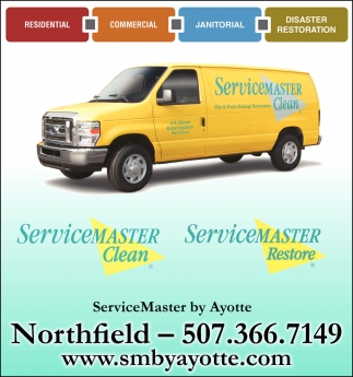 Residential, Commercial, Janitorial, Disaster Restoration, Servicemaster Clean, Northfield, MN