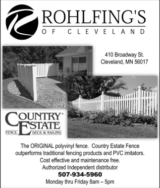 Cost effective and maintenance free, Rohlfing's of Cleveland