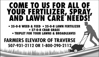 Lawn Fertilizer, Spray and Lawn Care